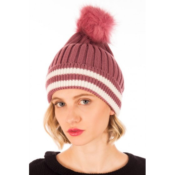 PINK WALLY HAT
