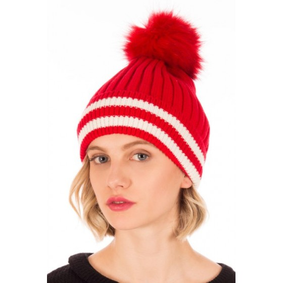 RED WALLY HAT